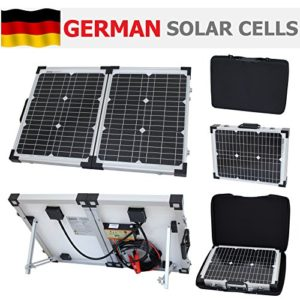 barrons caravans Barrons Caravans and Motorhomes 40W 12V Photonic Universe folding solar panel kit 40 watt 12 volt battery charger for camping caravan motorhome boat or any other 12V system 0
