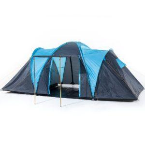 barrons caravans Barrons Caravans and Motorhomes Skandika Hammer Fest 4 Spacious Dome Tent BlueBlack 4 Persons 0