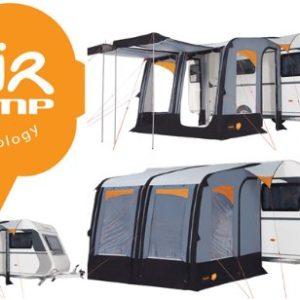 barrons caravans Barrons Caravans and Motorhomes Trigano Luna Air Inflatable Caravan Porch Awning 0